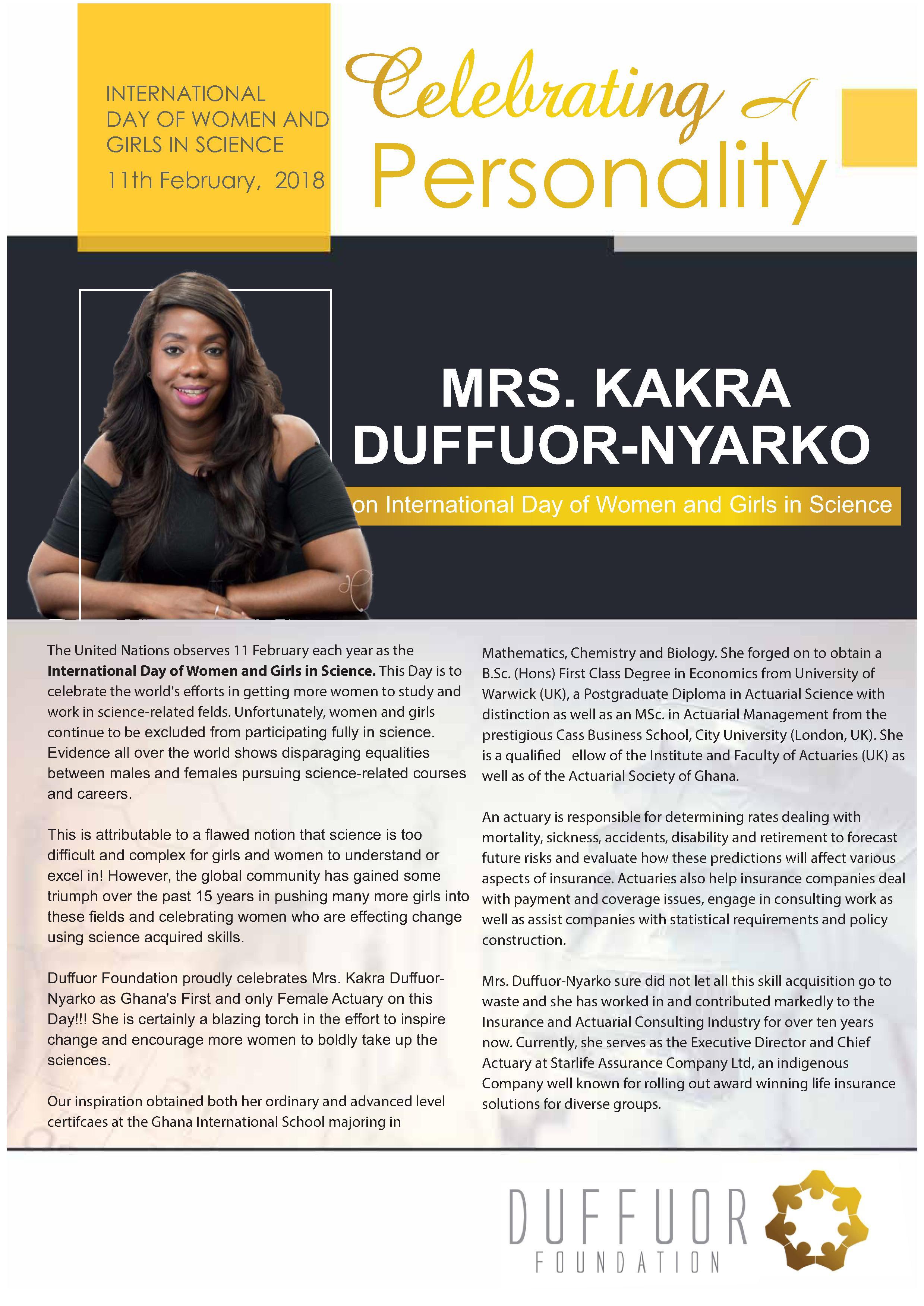 ED_ Mrs Kakra-Duffour
